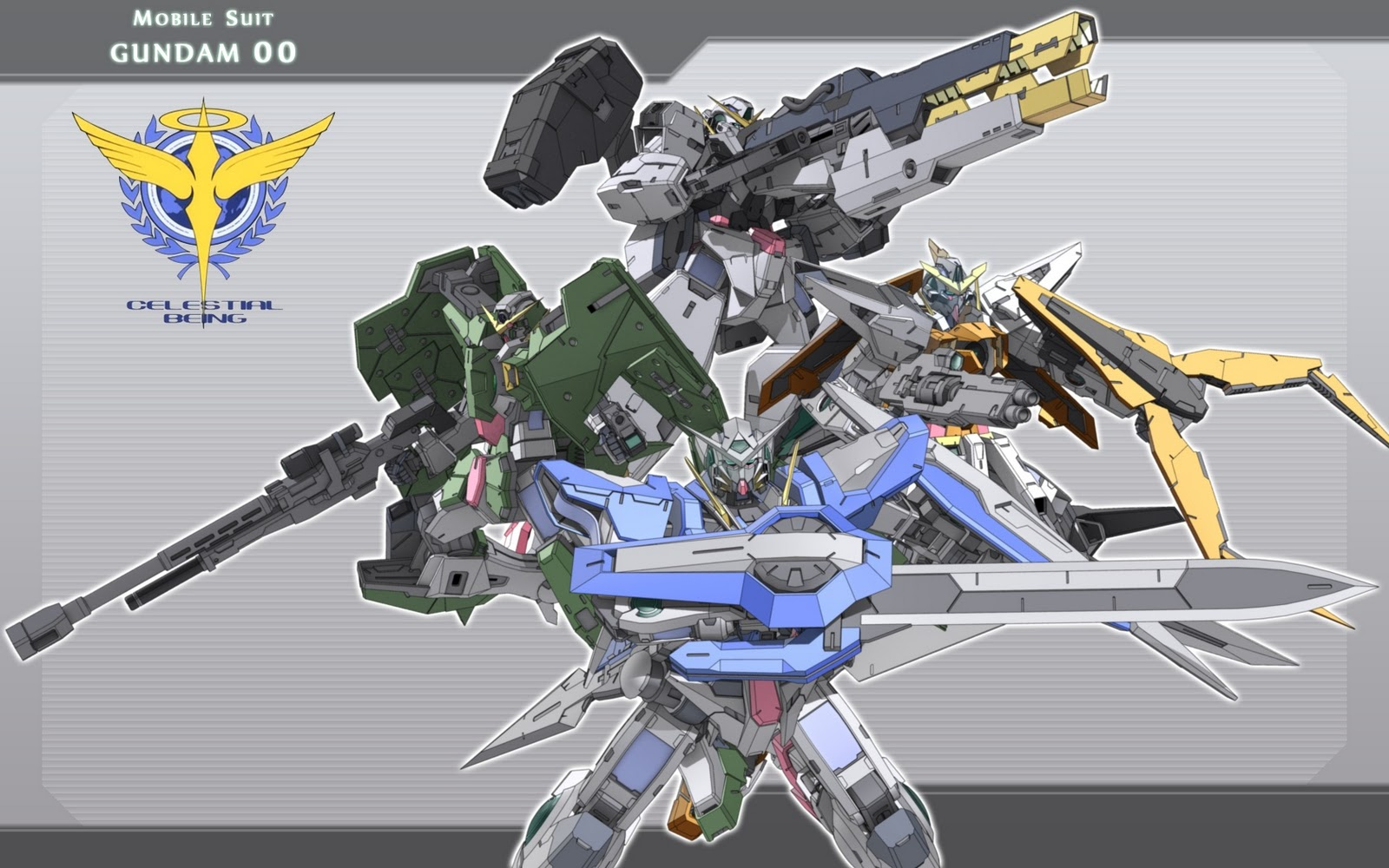 Farulz 007 Gundam OO Wallpaper 1600x1000
