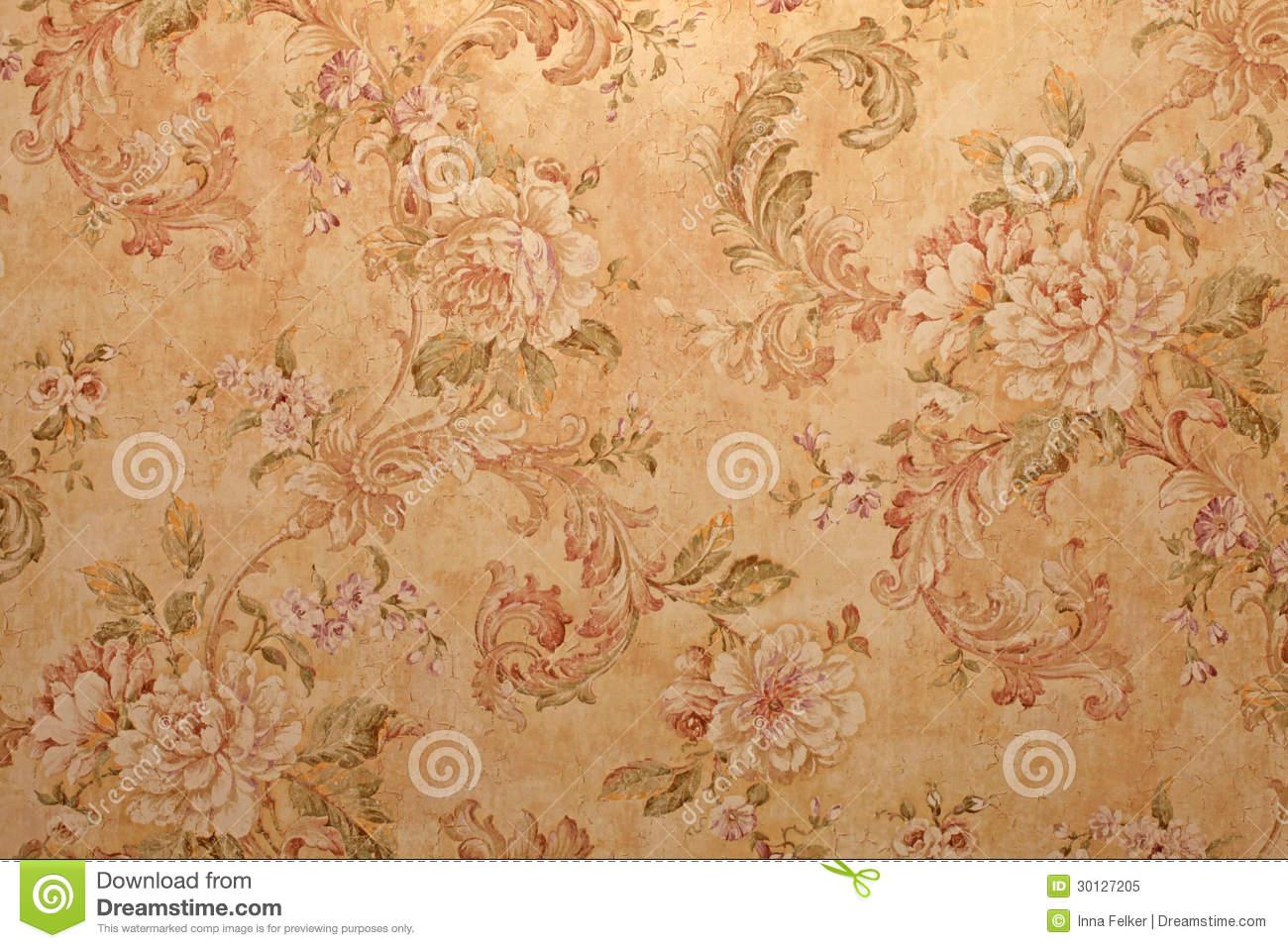 Free Download Vintage Victorian Floral Wallpaper Vintage Wallpaper