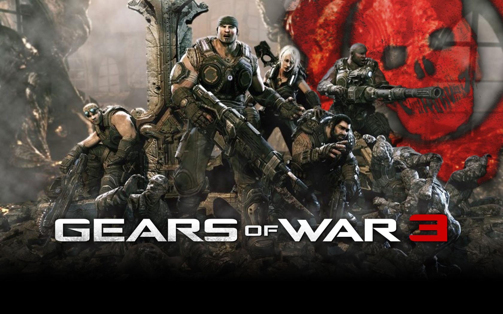Gears of War 3 Wallpaper Full HD 1080p Wallpaper HD Widescreen 1680x1050