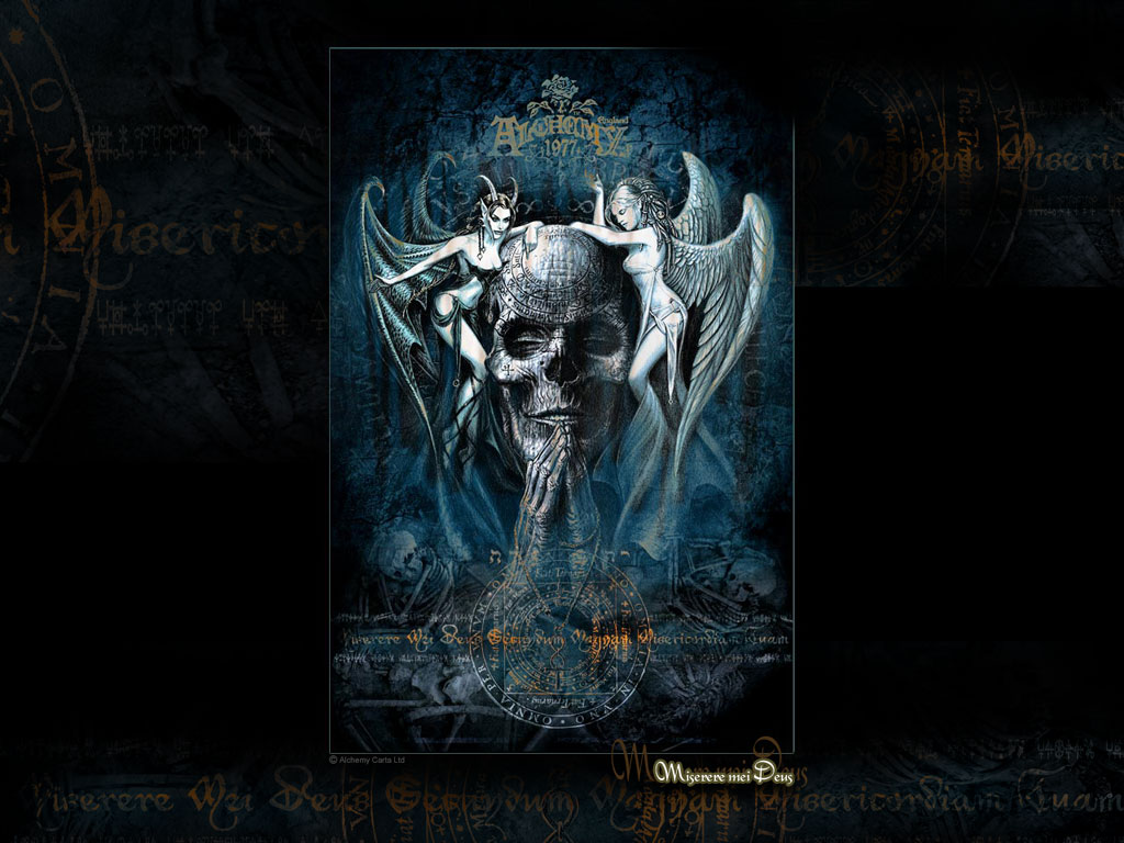 Gothic skulls wallpaper wallpapersafari - Gothic wallpaper for phone ...