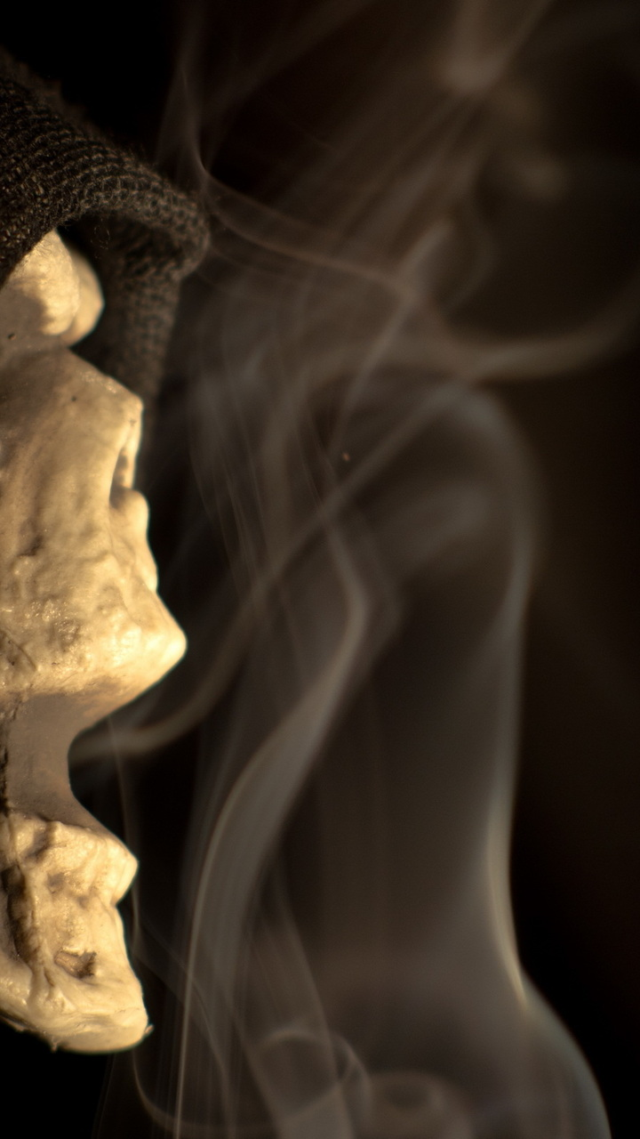 720x1280 skeleton halloween scary skeleton chatter macro 720x1280