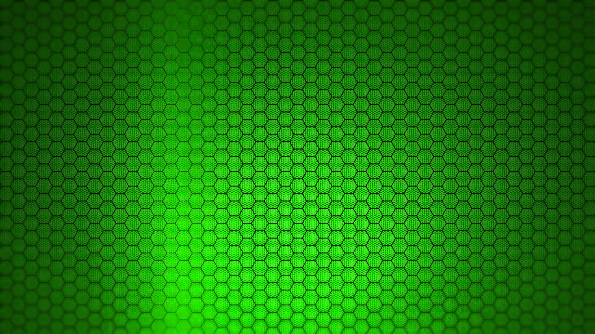 Hexagon Background   Green Screen Animation 1920x1080