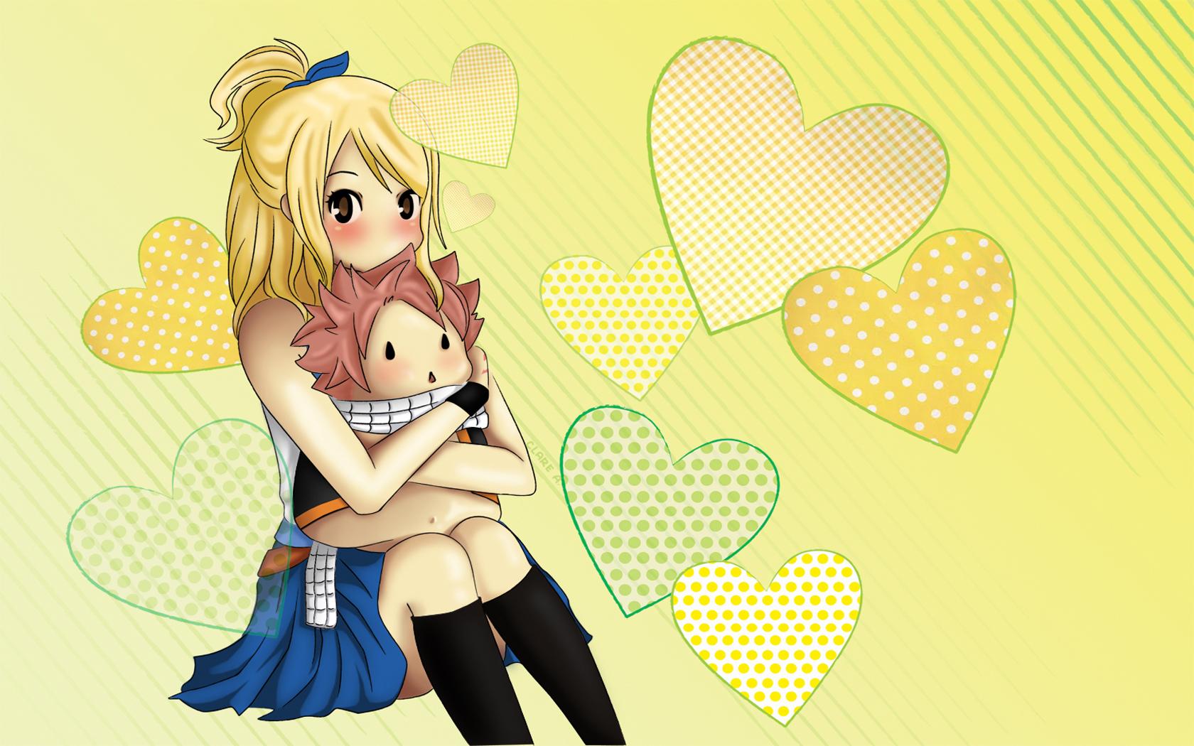 Lucy and Natsu 3m Wallpaper HD 1680x1050