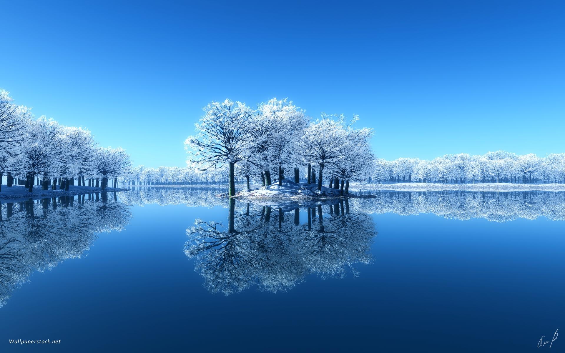 Beautiful Winter Scene Wallpapers   9797 1920x1200