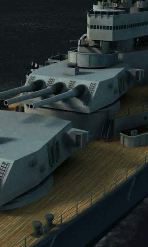 Download Battleship Missouri live wallpaper for your Android 480x800