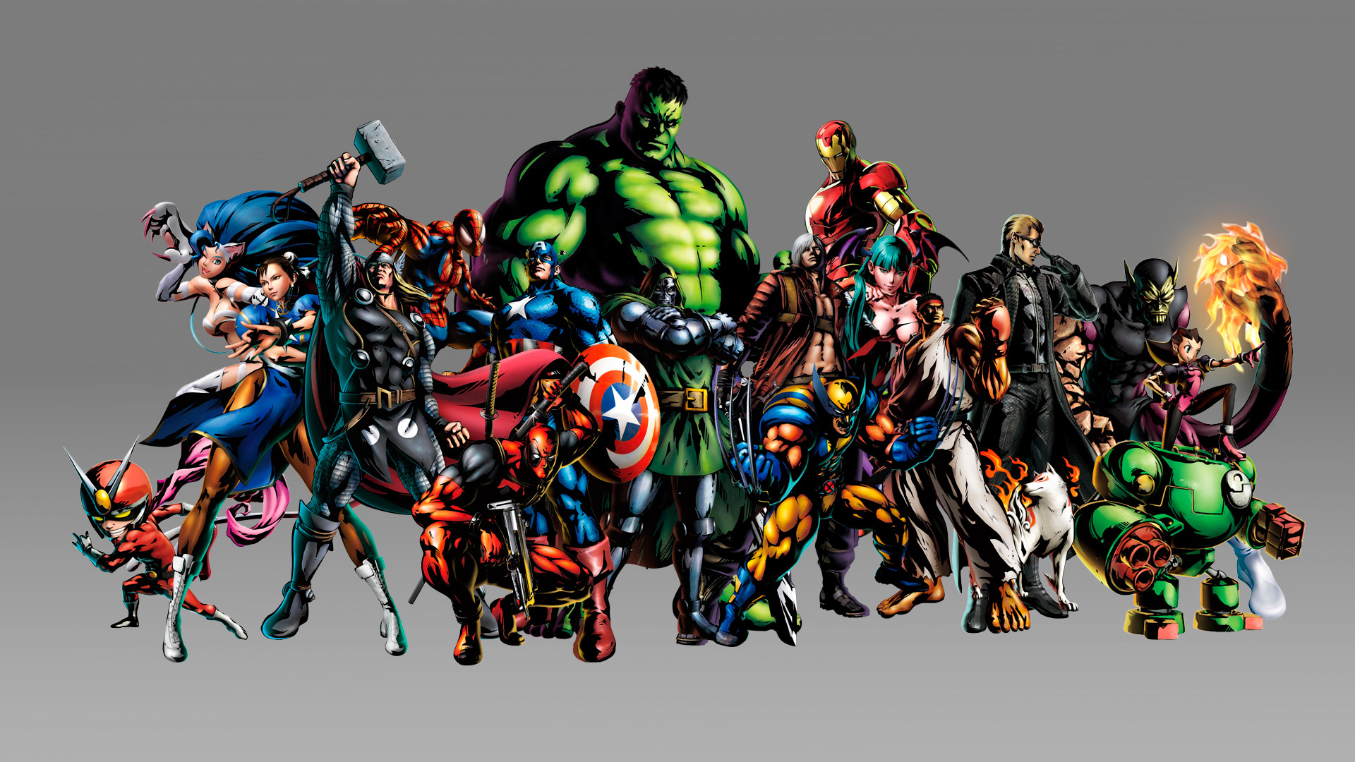 Marvel vs Capcom 3 MVC 3 Wallpapers in HD 1920x1080