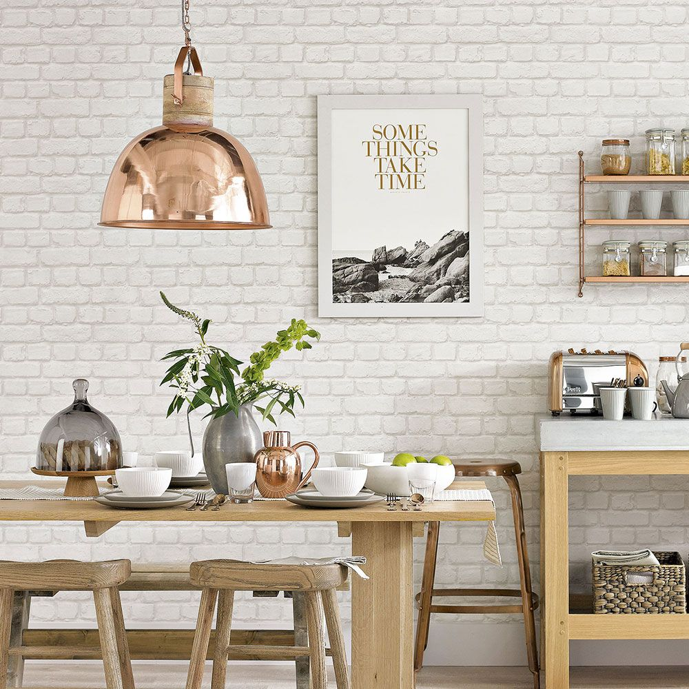 9+] Brick Wallpaper for Kitchens on WallpaperSafari