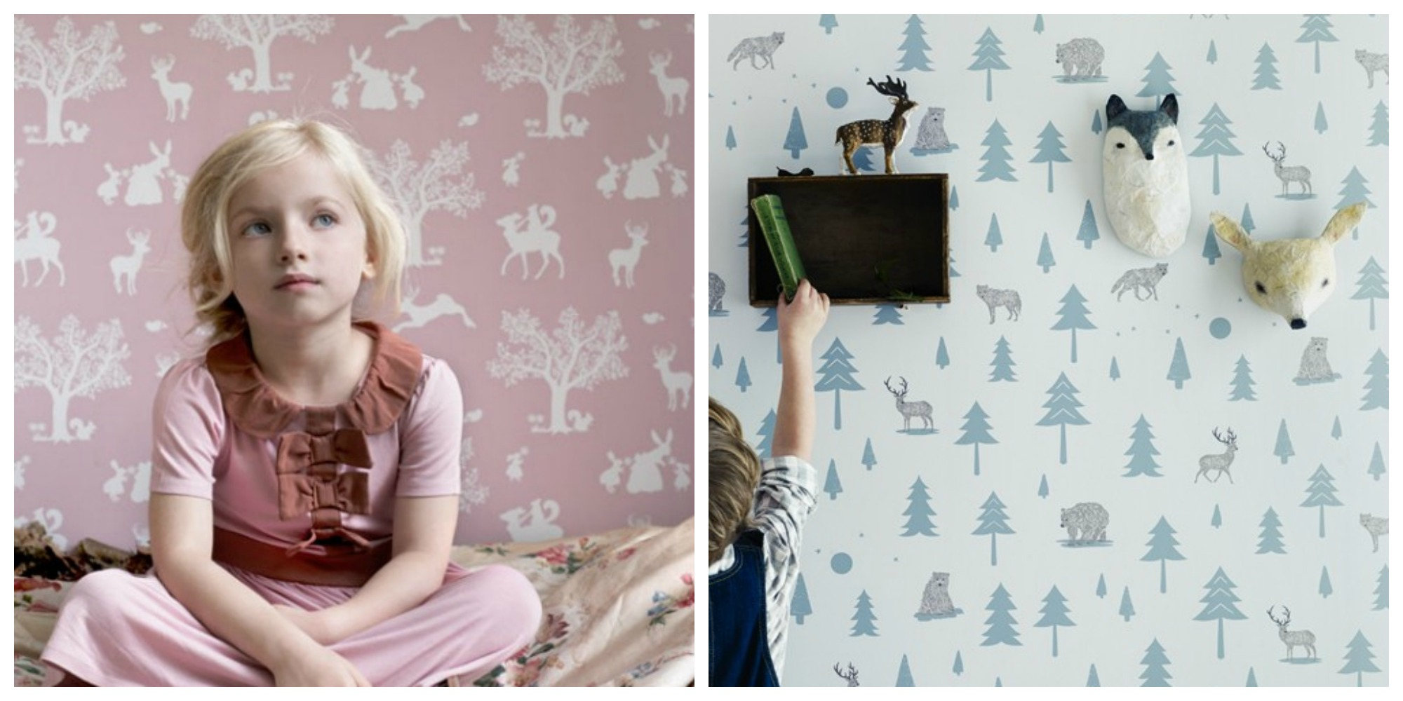 Stylish Kids Wallpaper From Hibou Home Love Chic Living