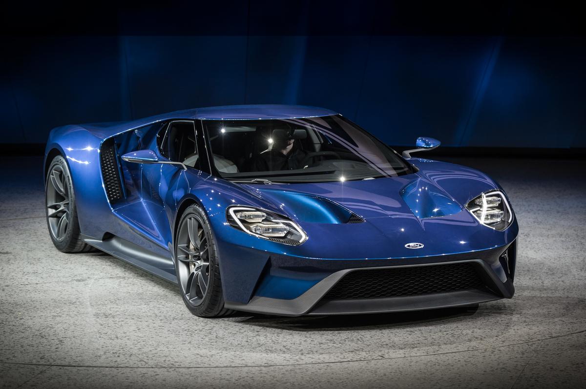 PHOTOS 2016 Ford GT Unveil   Sportscar365 1200x798