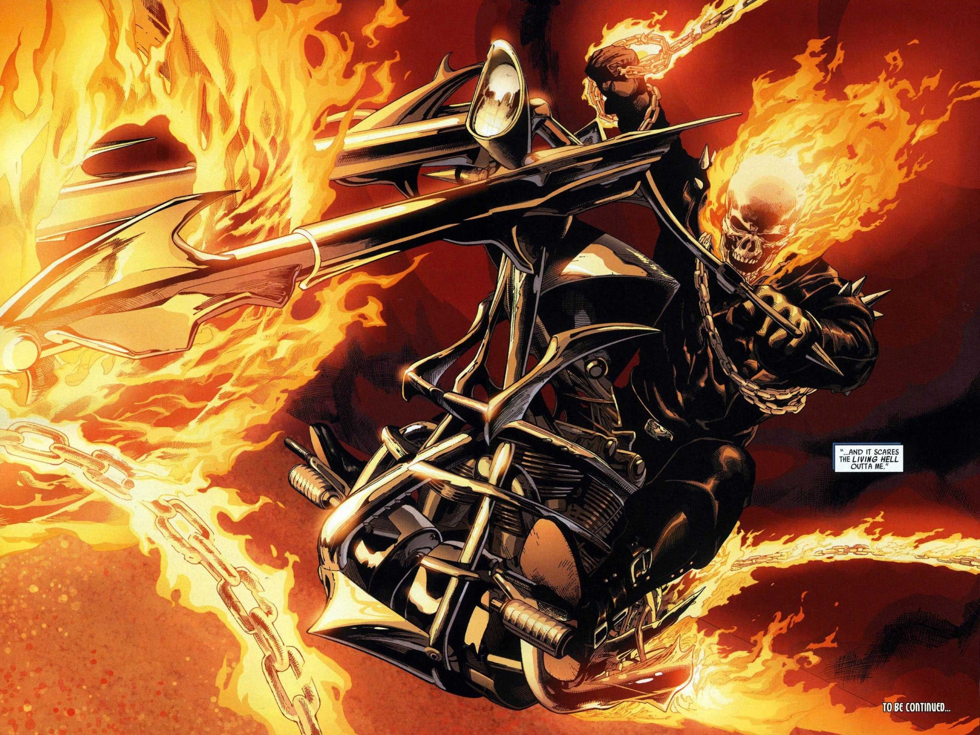 Ghost Rider Bike 1920 x 1440 Ghost Rider Wallpapers 1920x1440