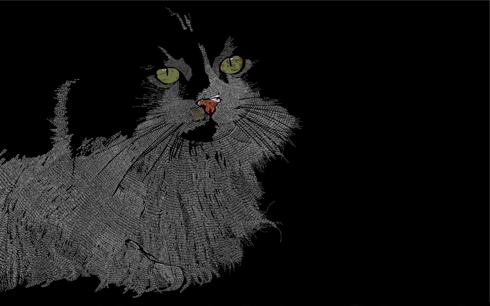 47 animated cat wallpaper for desktop on wallpapersafari - Cartoon cat background ...