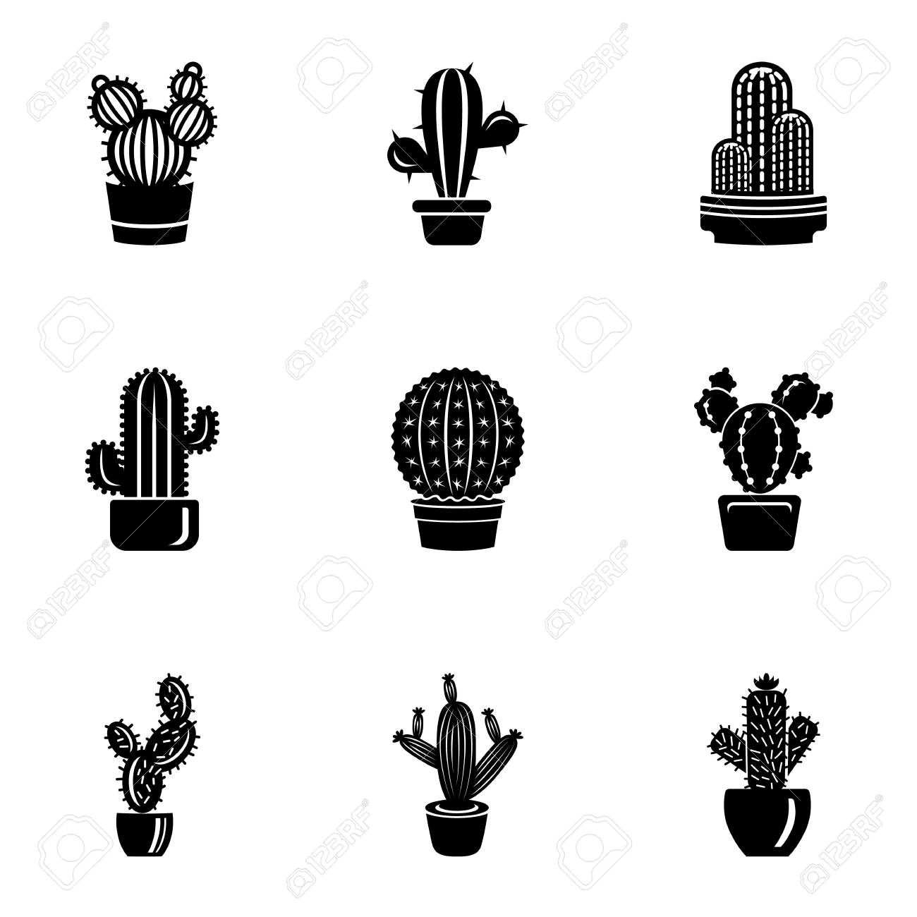 Peyote Icons Set Simple Set Of 9 Peyote Vector Icons For Web 1300x1300