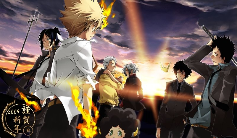 Katekyo Hitman Reborn Wallpaper HQ 801x467
