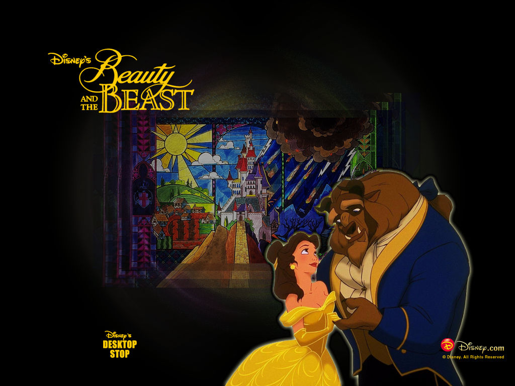 and the Beast disney photo Beauty and the Beast disney wallpaper 1024x768