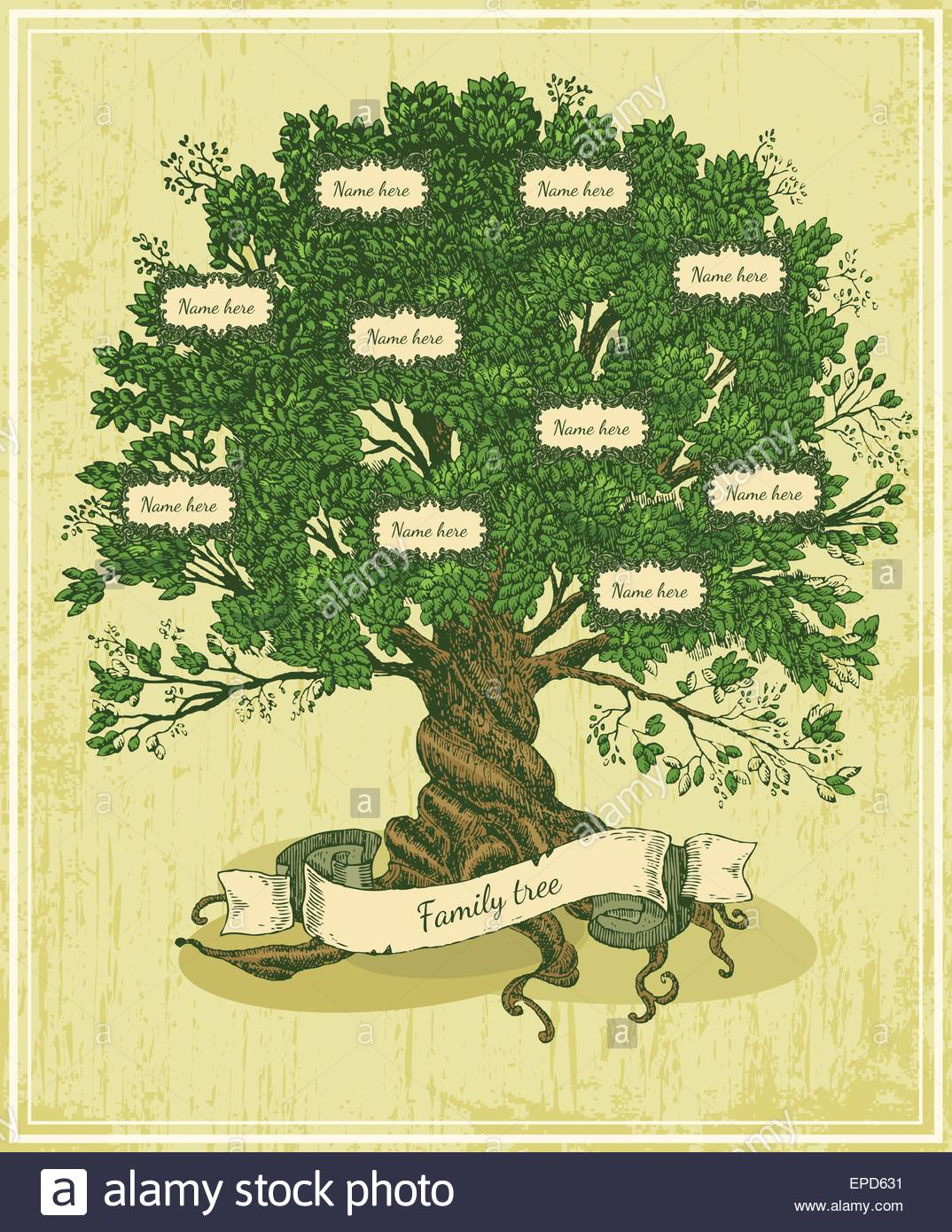 Olive tree with roots on rough background Arbor day poster in 1074x1390