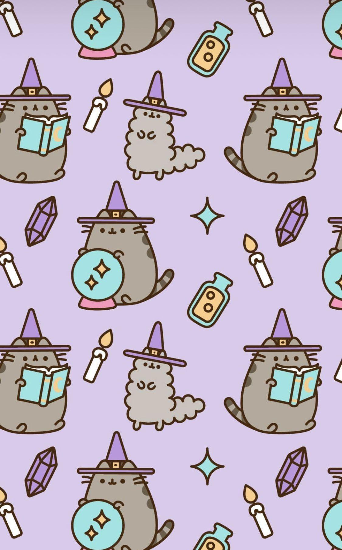Cute Halloween Pusheen Wallpapers   Top Cute Halloween 1125x1810