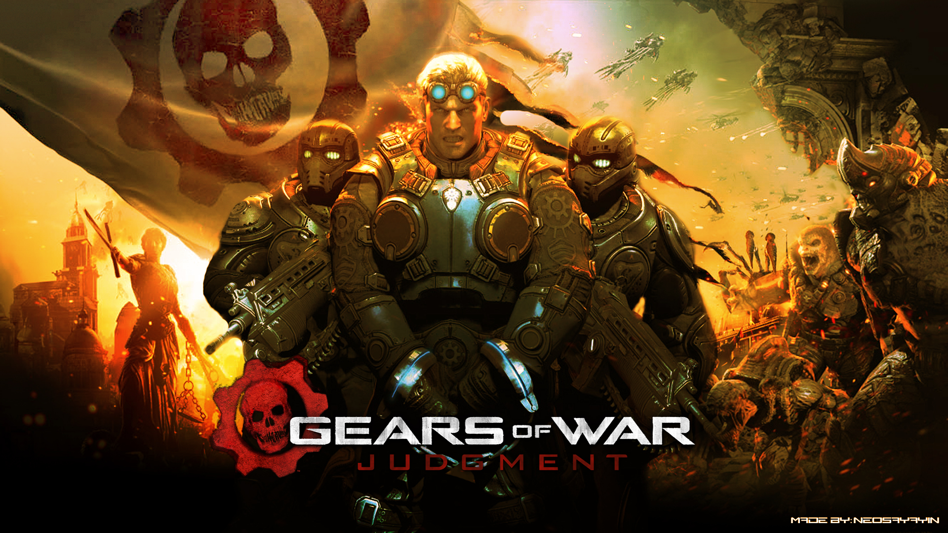 Gears of War Judgment Wallpaper HD Page 1 1920x1080