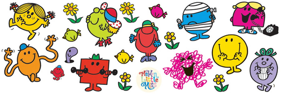 Mr Men and Little Miss Hume Internationale 900x302