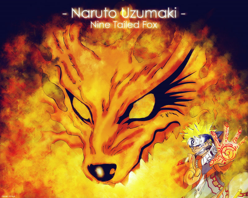Best Wallpaper 2012 Naruto And Nine Tailed Fox By FoolyCoolyMan On 800x640