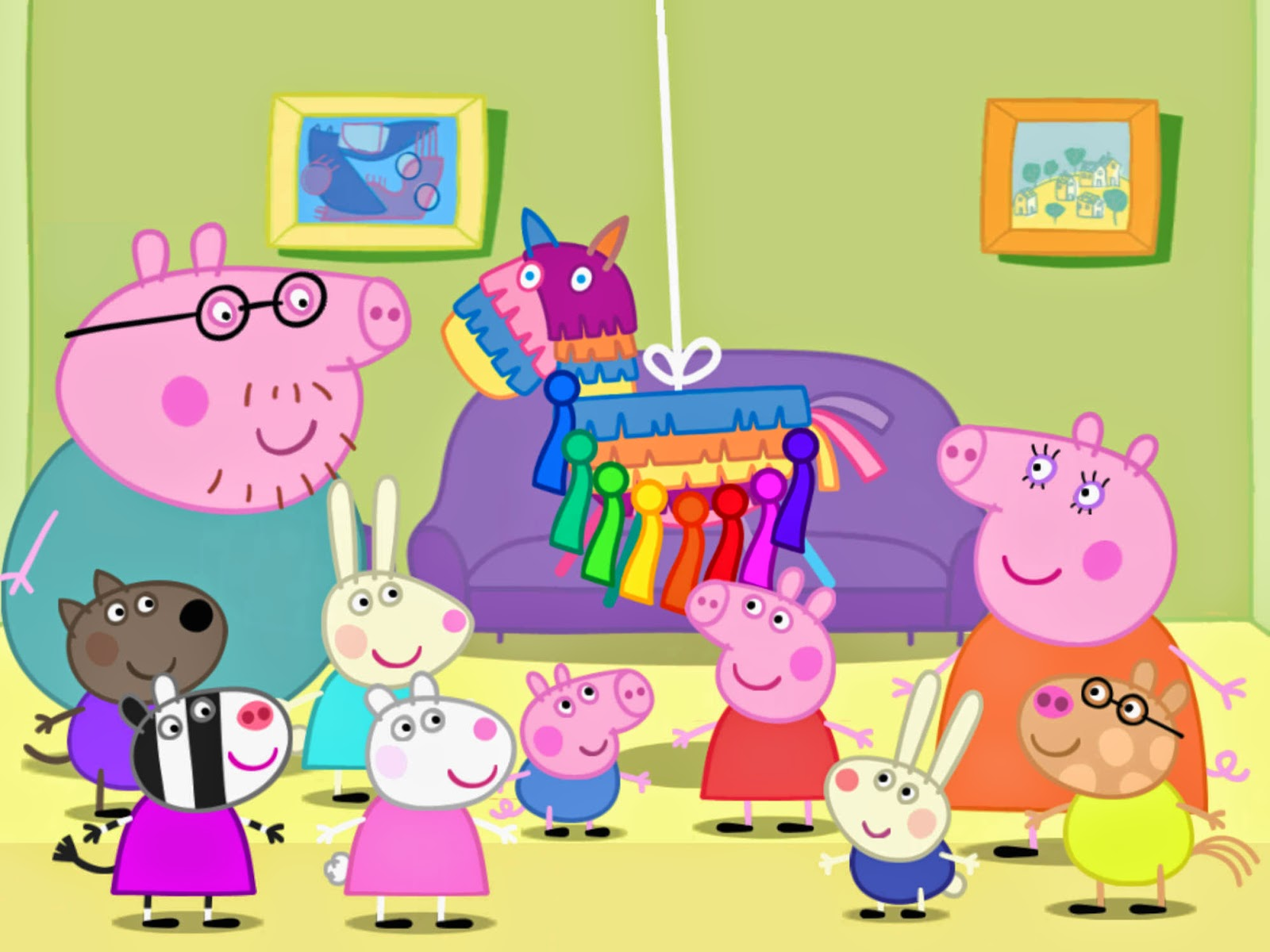 Safari Bedroom Peppa Pig Wallpaper Wallpapersafari