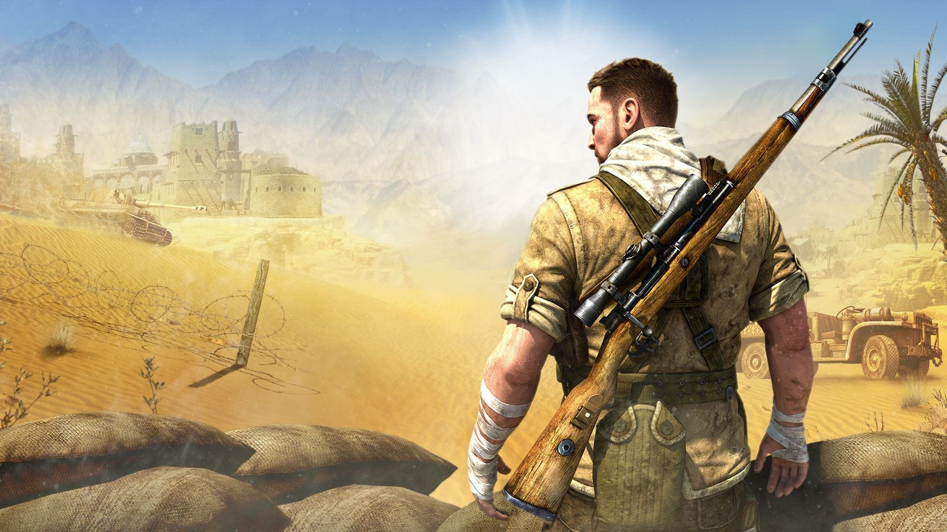 8 Sniper Elite 3 HD Wallpapers Background Images 1920x1080