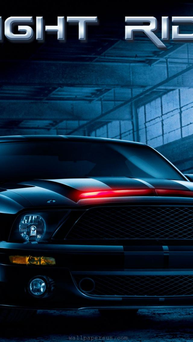free download wallpapers knightrider knight rider kitt Car Pictures 640x1136