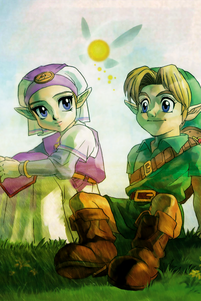 The Legend of Zelda HD Wallpapers for iPhone 4 iTito Games Blog 640x960