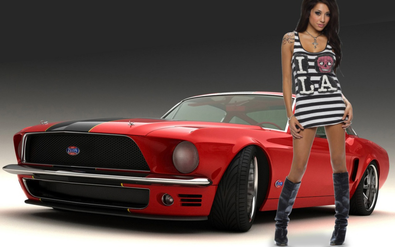 Tuning girls tuned cars Tuninger 1280x800