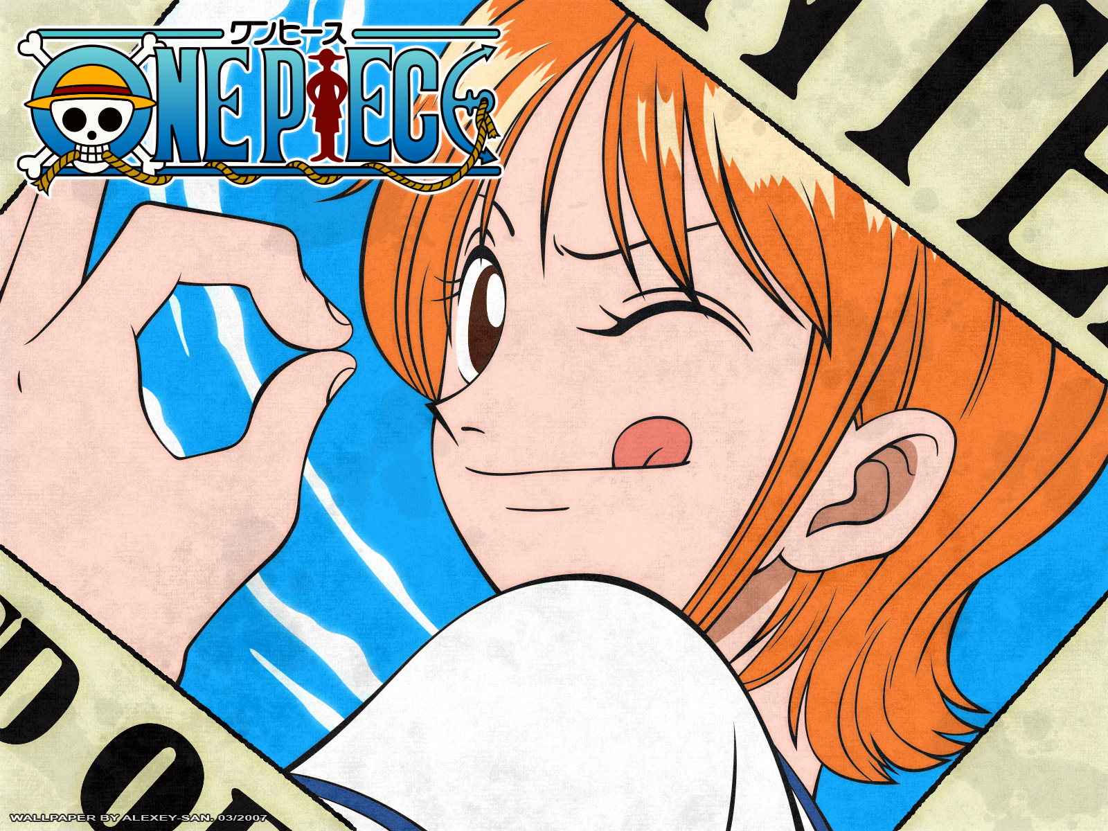 Nami w   One Piece Wallpaper 35335912 1600x1200