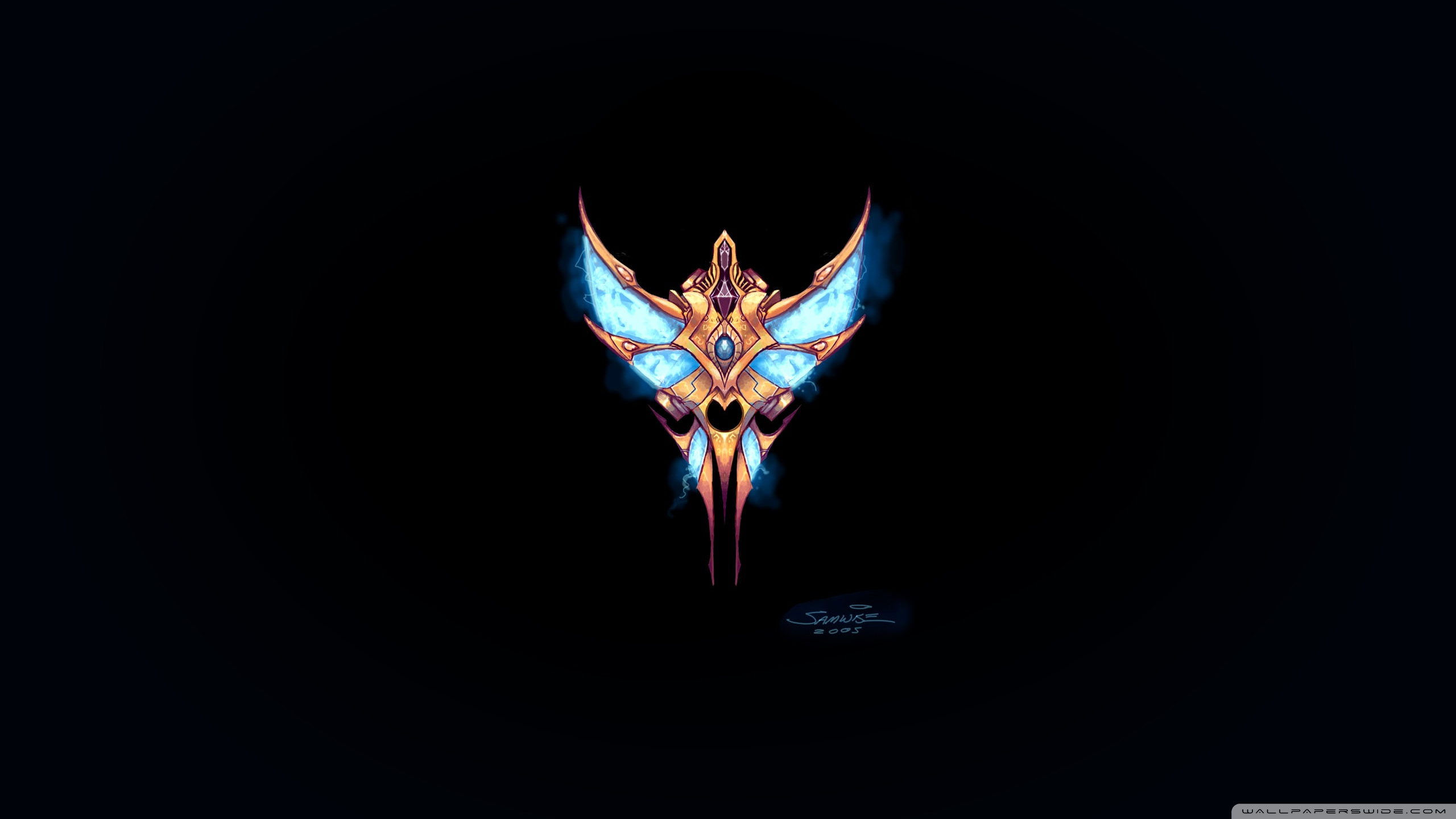 Starcraft Protoss Wallpaper posted by Michelle Thompson 2560x1440