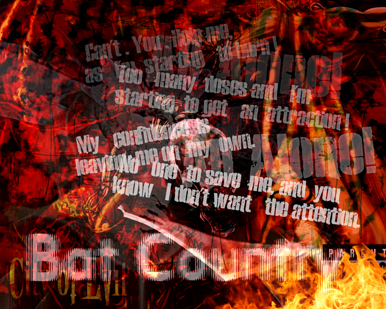 Country Lyrics Wallpaper Bat country by applejackles 1280x1024