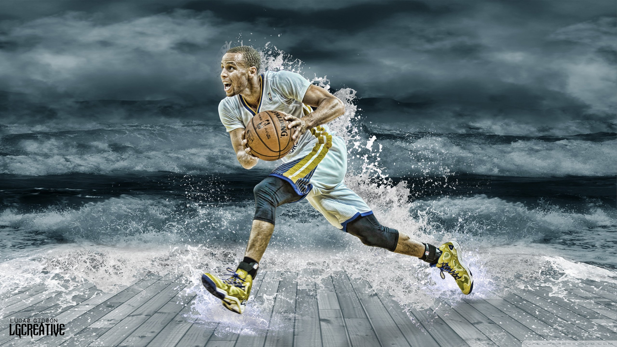 stephen curry drops 34 points houston game 1 win video 2 stephen 2560x1440