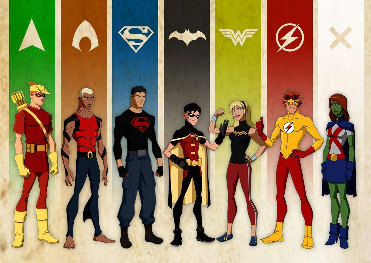 Young Justice Wallpapers 1280x905