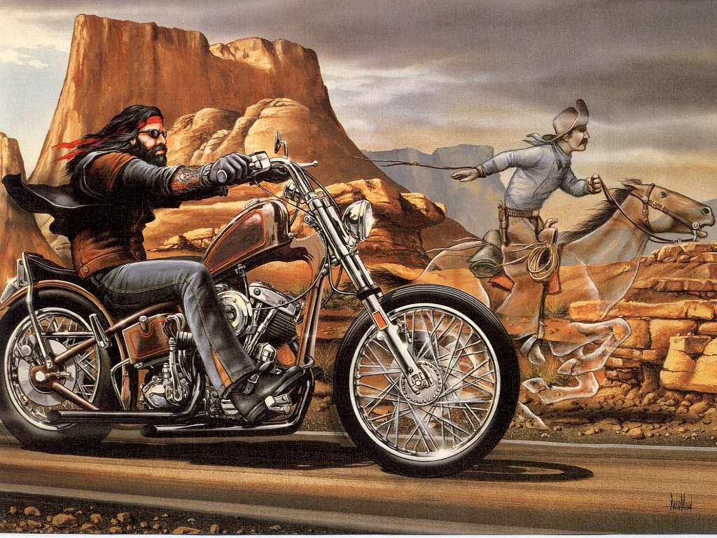Ghost Rider   Artist David Mann 1024x768