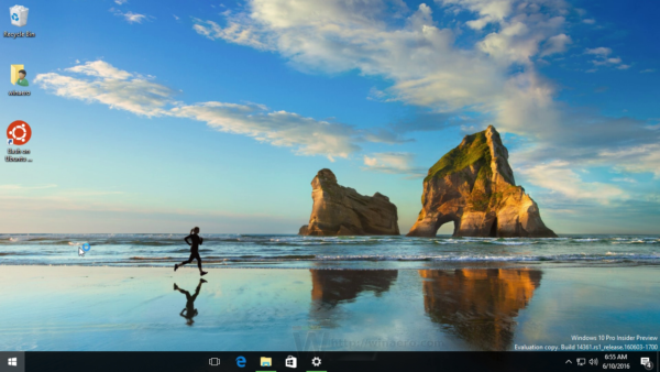 Change Windows 10 desktop wallpaper without activation 600x338