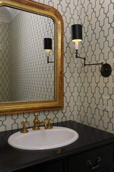 moroccan tile wallpaper white and blue moroccan tile wallpaper gold 400x601