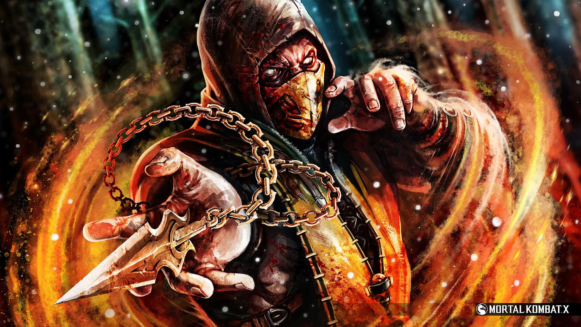 Mortal Kombat X Wallpaper 1920x1080