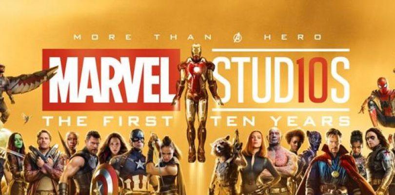 El Universo Cinematogrfico de Marvel celebra su dcimo 810x400