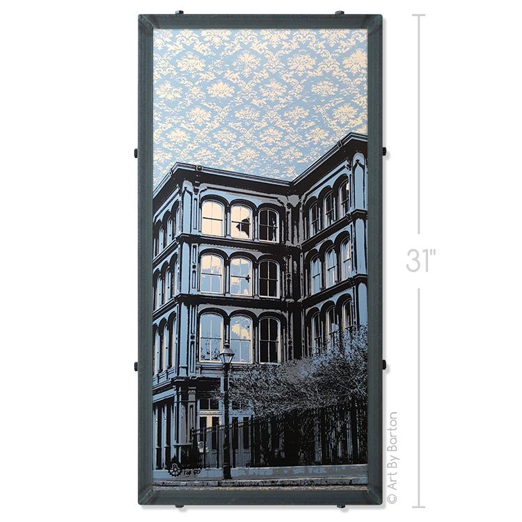 1840s Ballroom Wallpaper   Art by Barton 750x750
