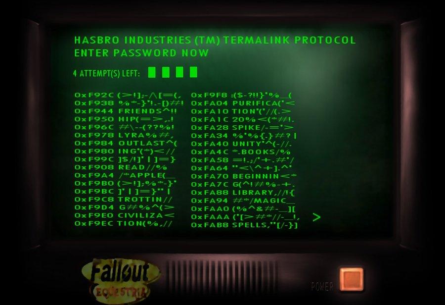 fallout 4 how to put terminal