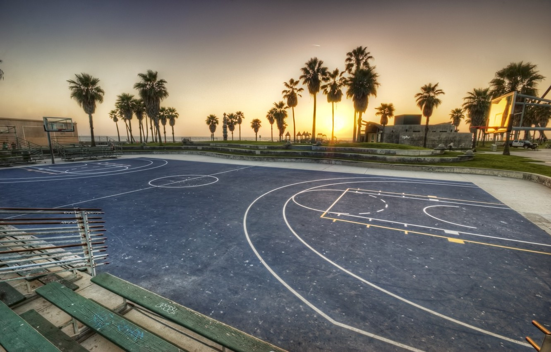 Wallpaper sunset california basketball sunset CA usa los 1332x850