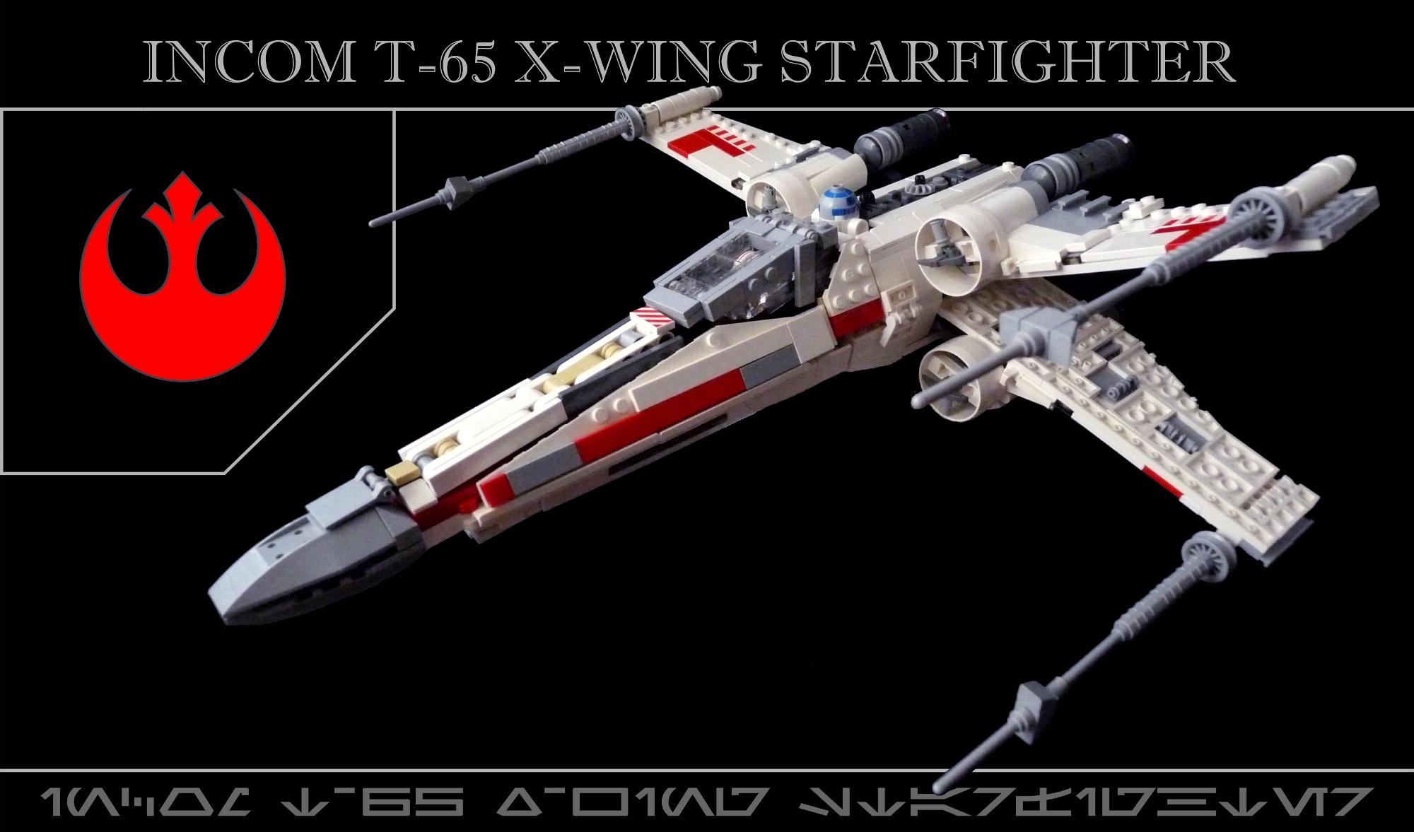 Tema INCOM T 65 X wing Starfighter Ledo 2090 veces 2000x1177