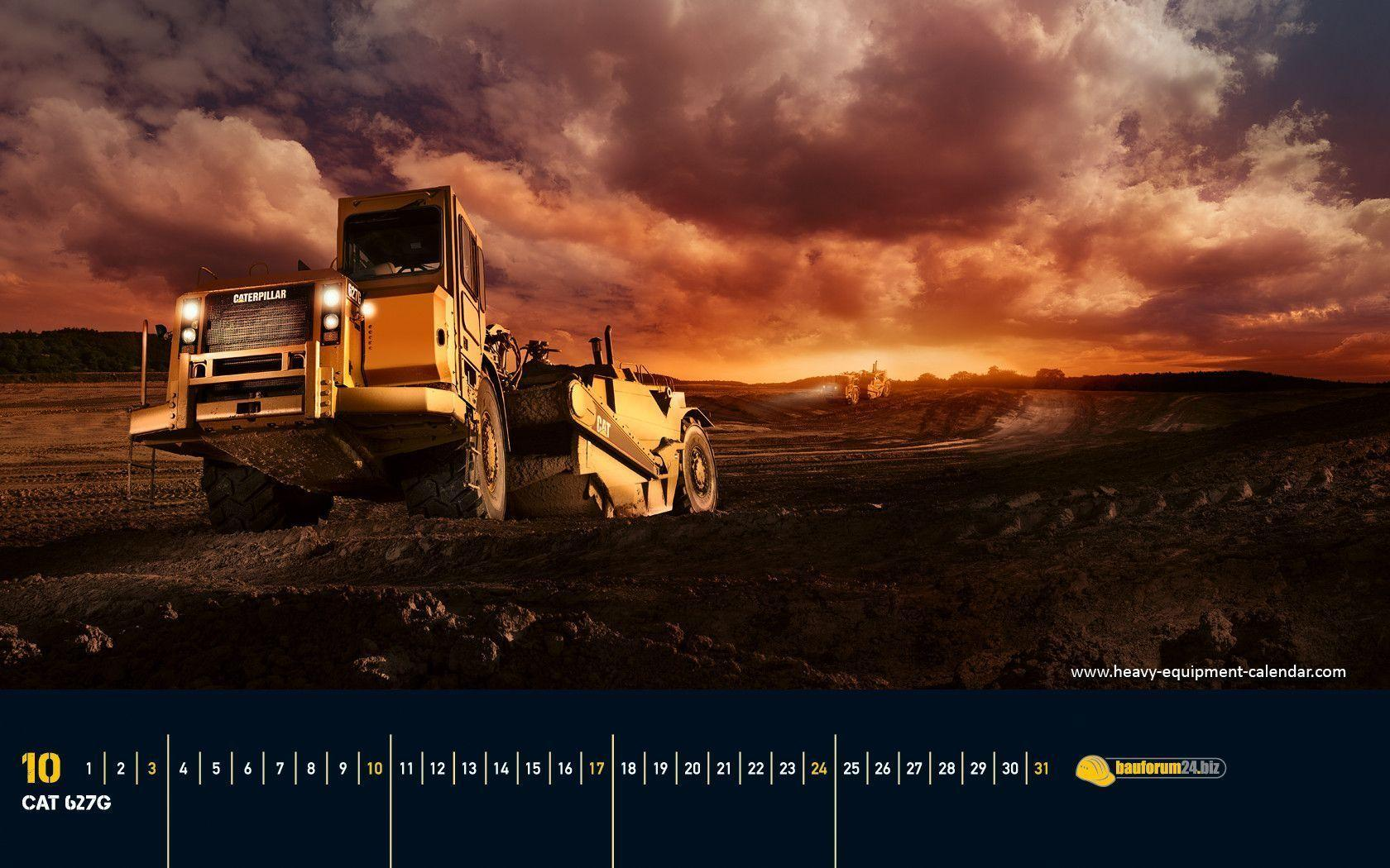 Caterpillar Equipment Wallpapers 1680x1050