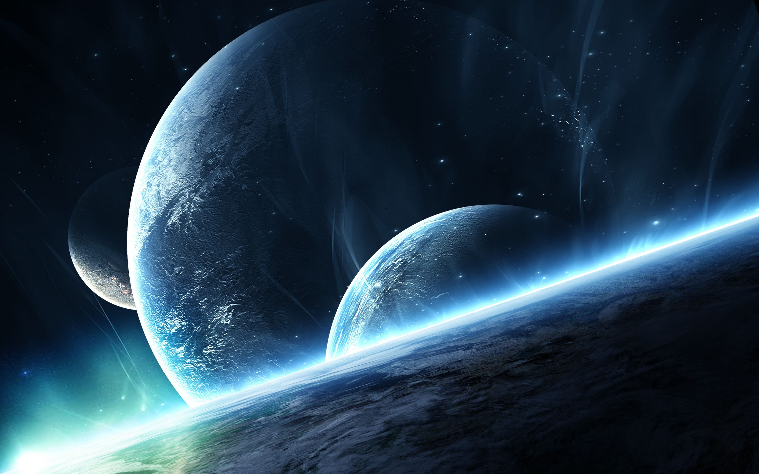 Download Description wallpaper Outer Space Wallpapers Full HD 2560x1600