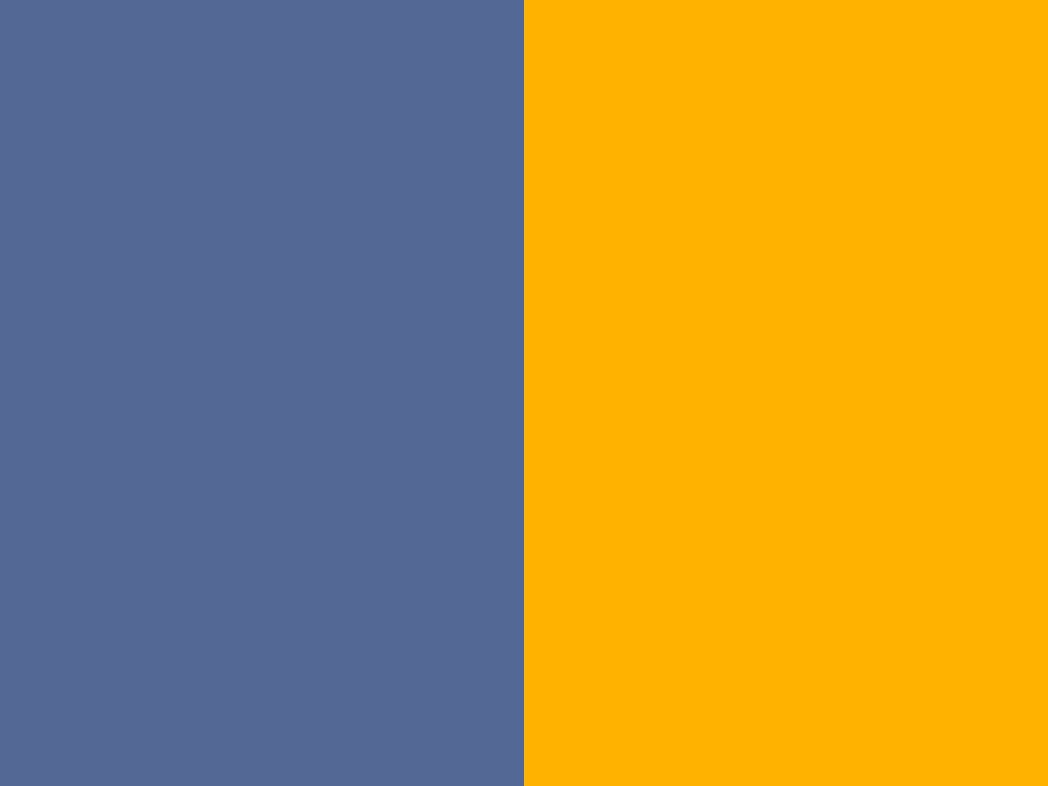 2048x1536 resolution UCLA Blue and UCLA Gold solid two color 2048x1536