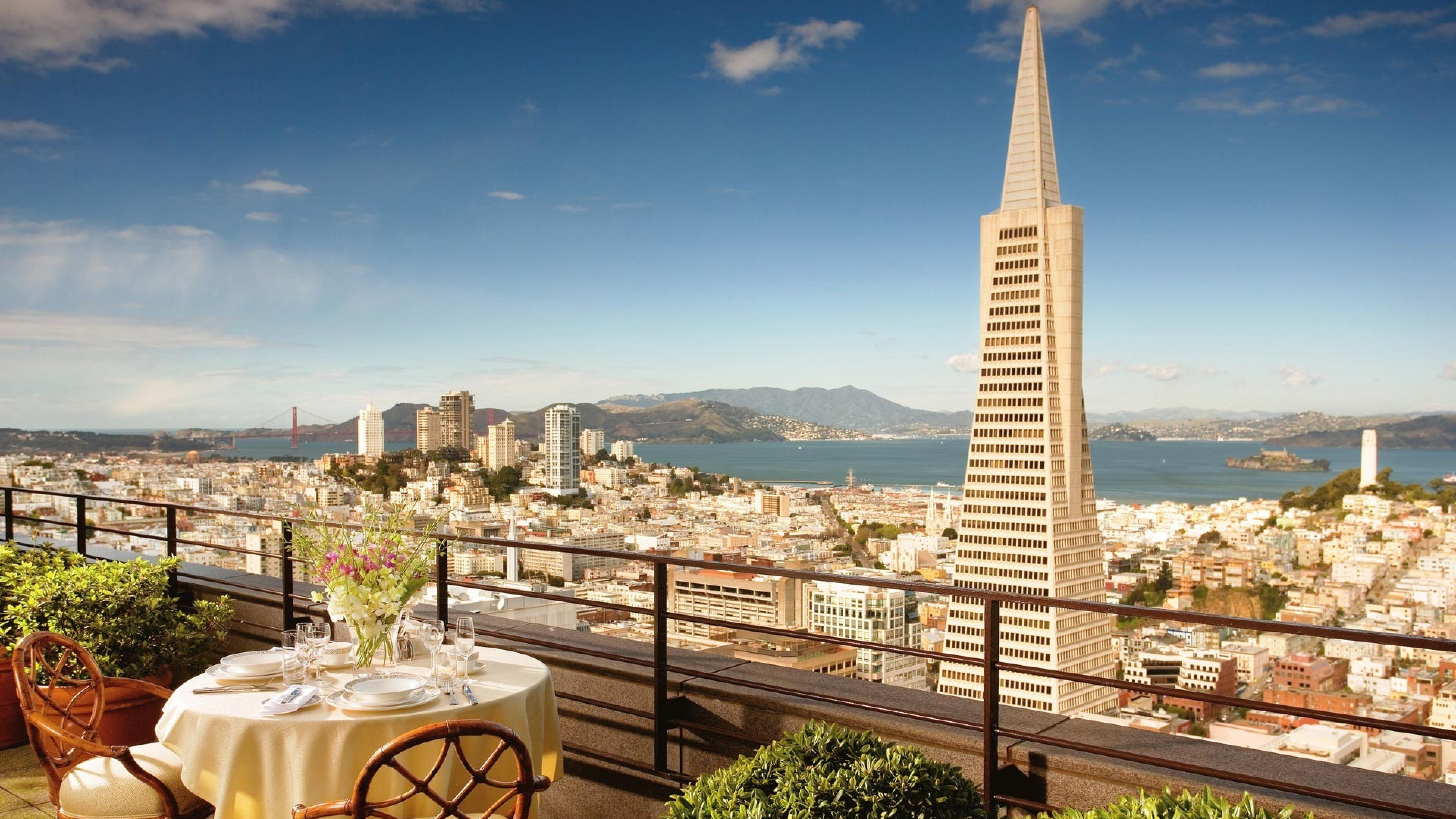 san   francisco balcony hotel look beautiful 3840x2160
