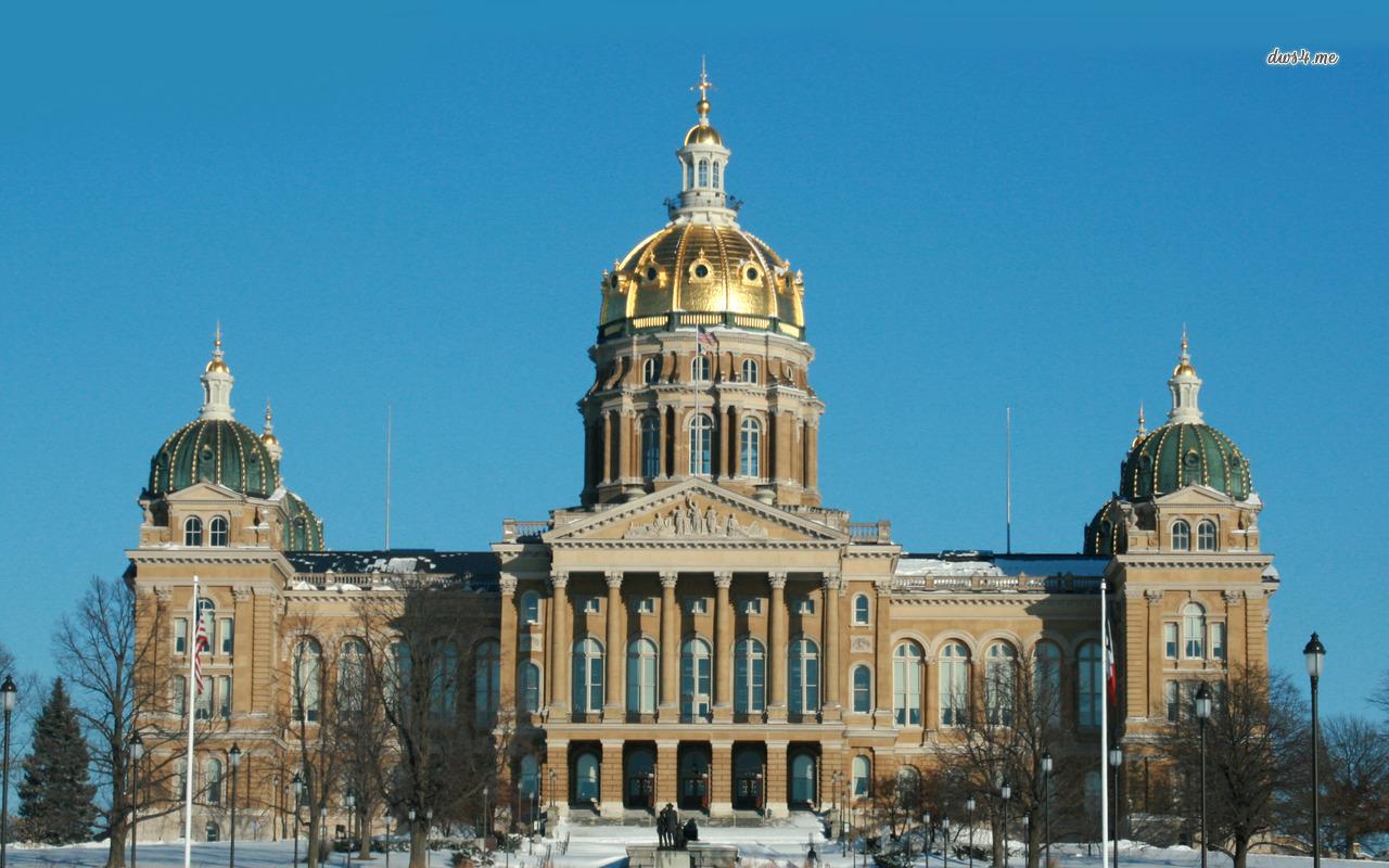 Iowa State Capitol wallpaper   World wallpapers   9398 1280x800