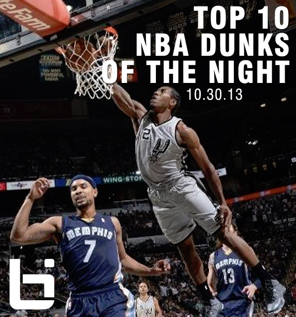 Nba Posterized Dunks Wallpaper Did throw down a dunk that 600x642