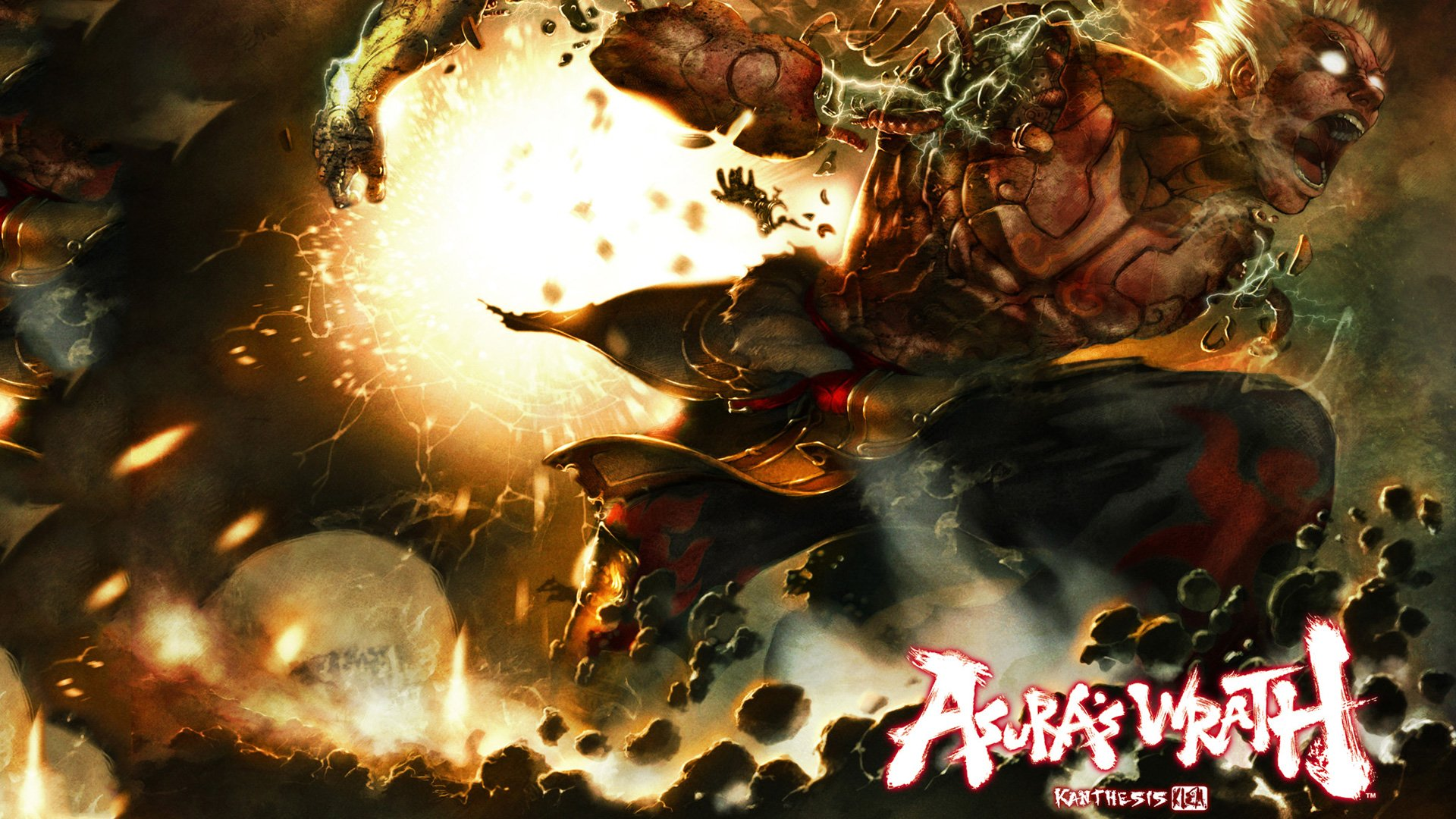 14 Asuras Wrath HD Wallpapers Background Images 1920x1080