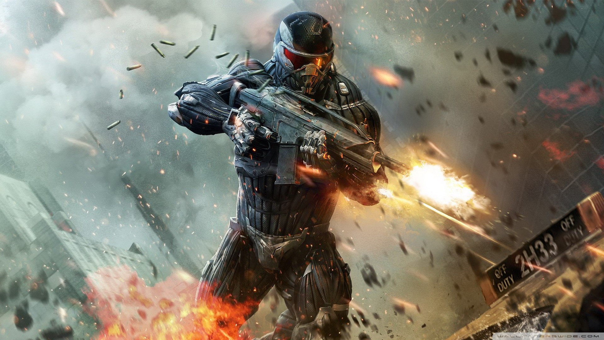Shooter Video Game Wallpaper 1920x1080 Crysis 2 Shooter Video Game 1920x1080